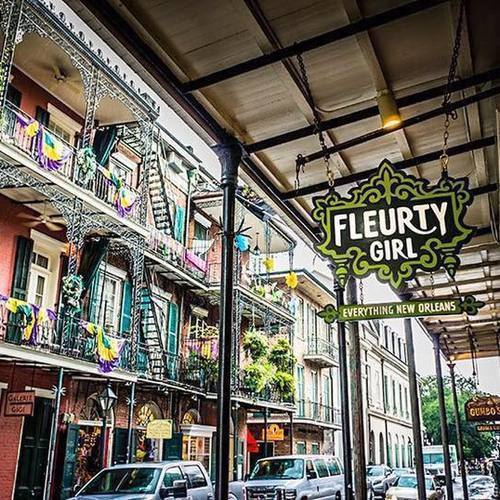 Fleurty Girl - French Quarter