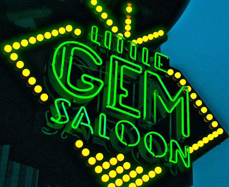 Monty Banks - Little Gem Saloon