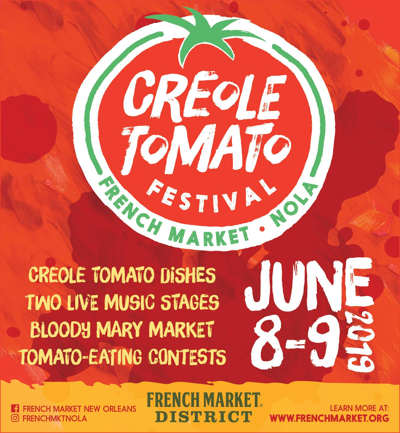 French Market Creole Tomato Festival 2019