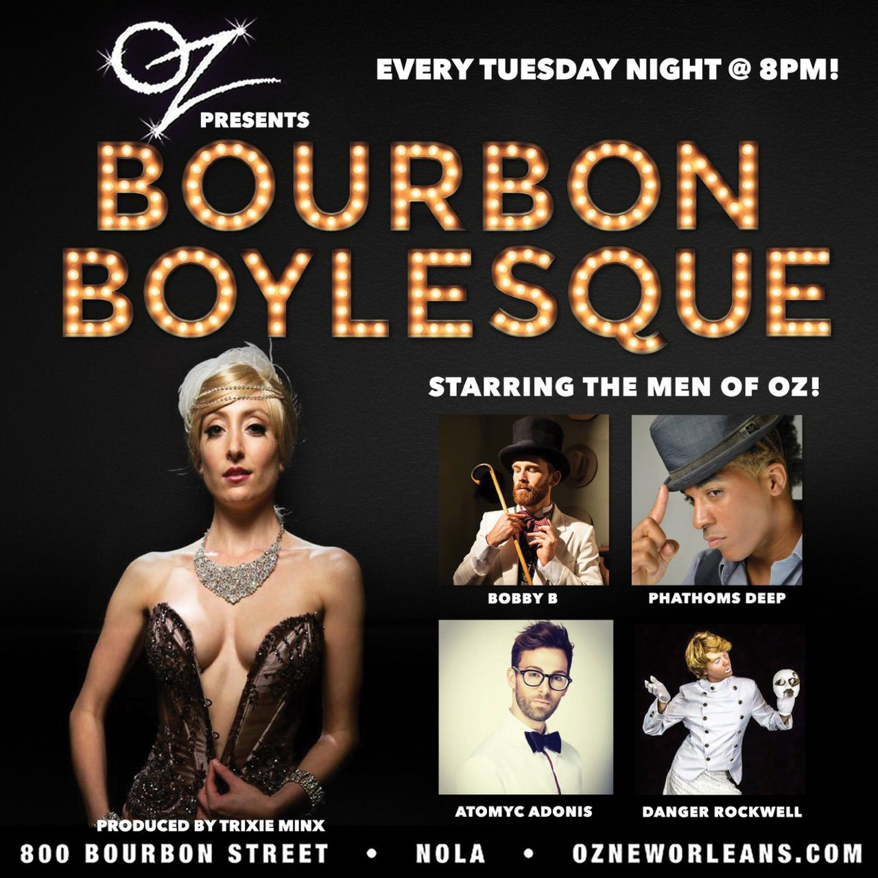 Bourbon Boylesque - OZ