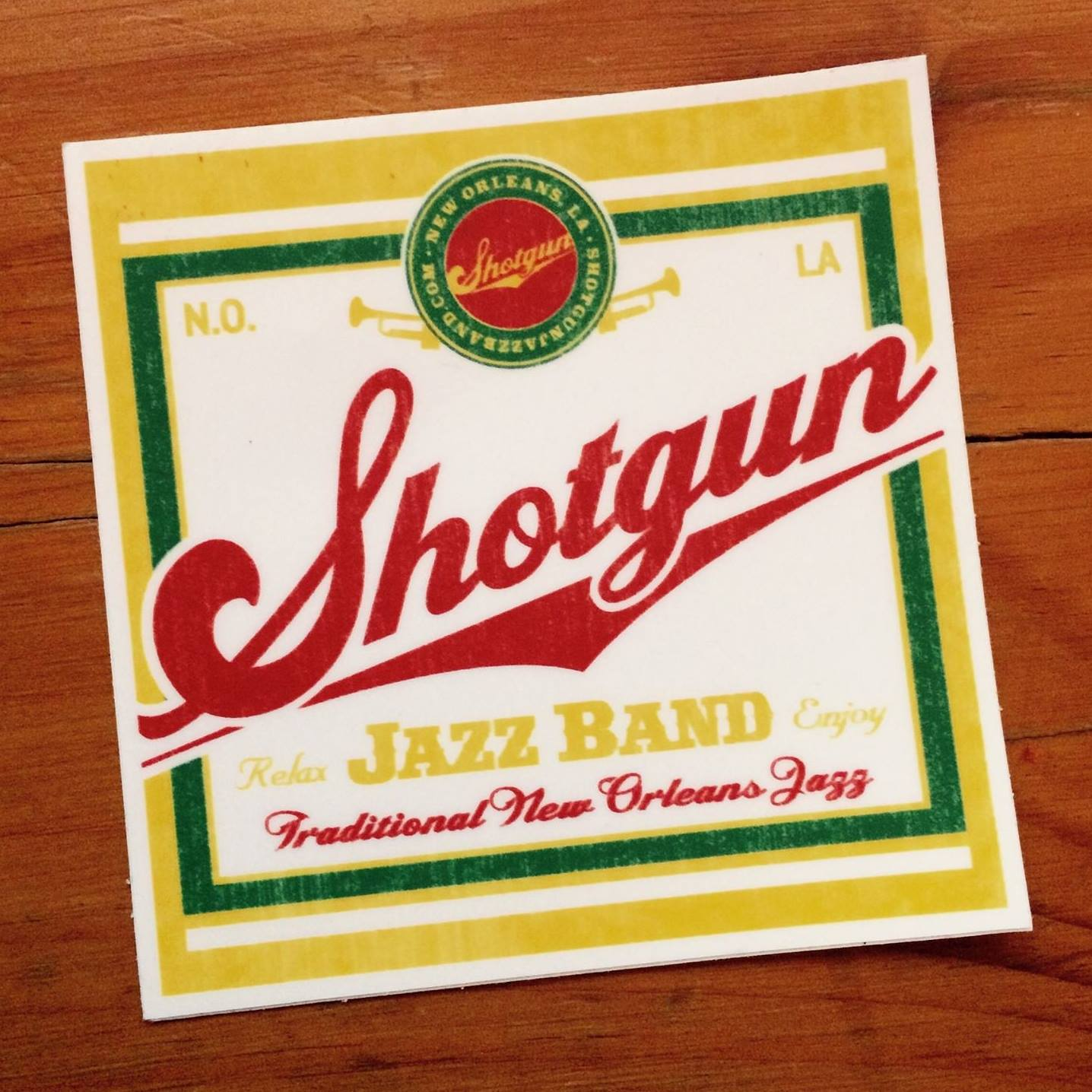 Shotgun Jazz Band - Three Muses