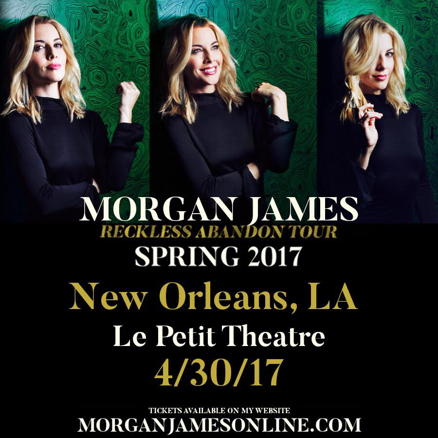 Morgan James + Andy Allo - Le Petit Theatre