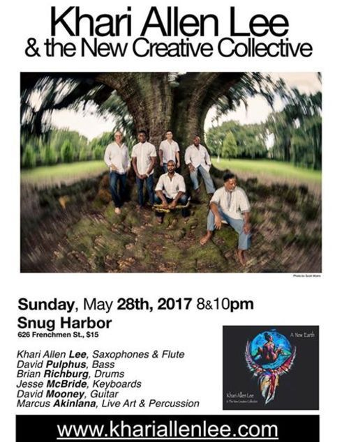 Khari Lee New Creative Collective 8 10pm