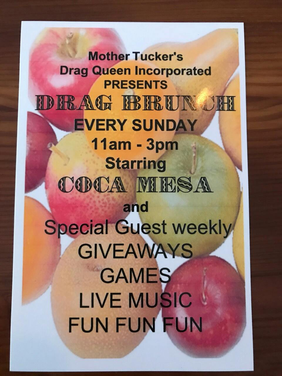Mother Truckers Drag Brunch - Artisan Bar and Cafe