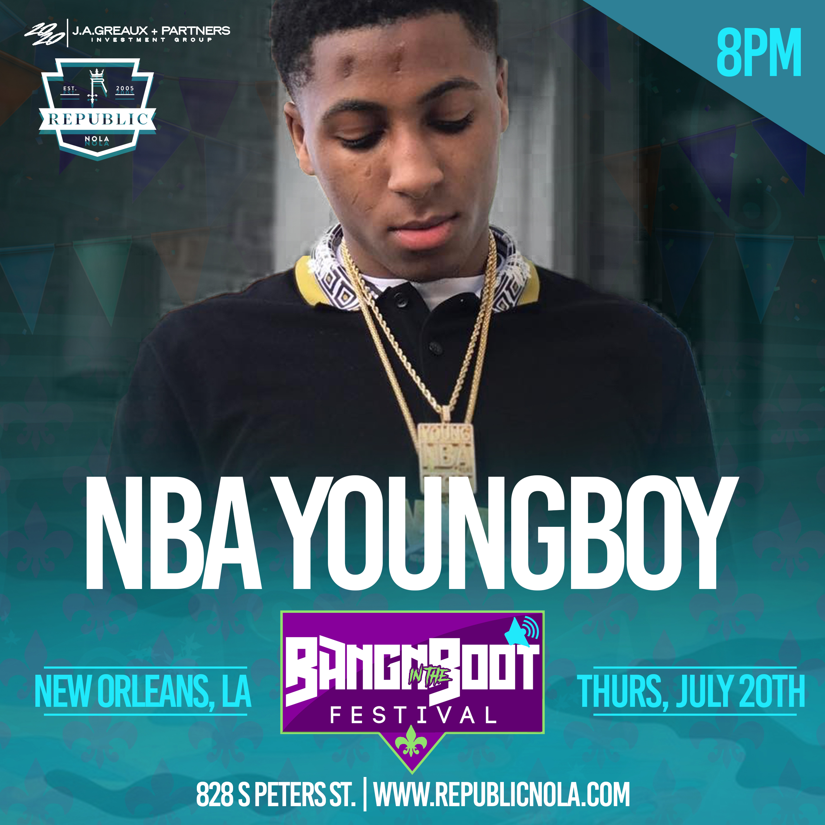NBA YoungBoy - Republic New Orleans