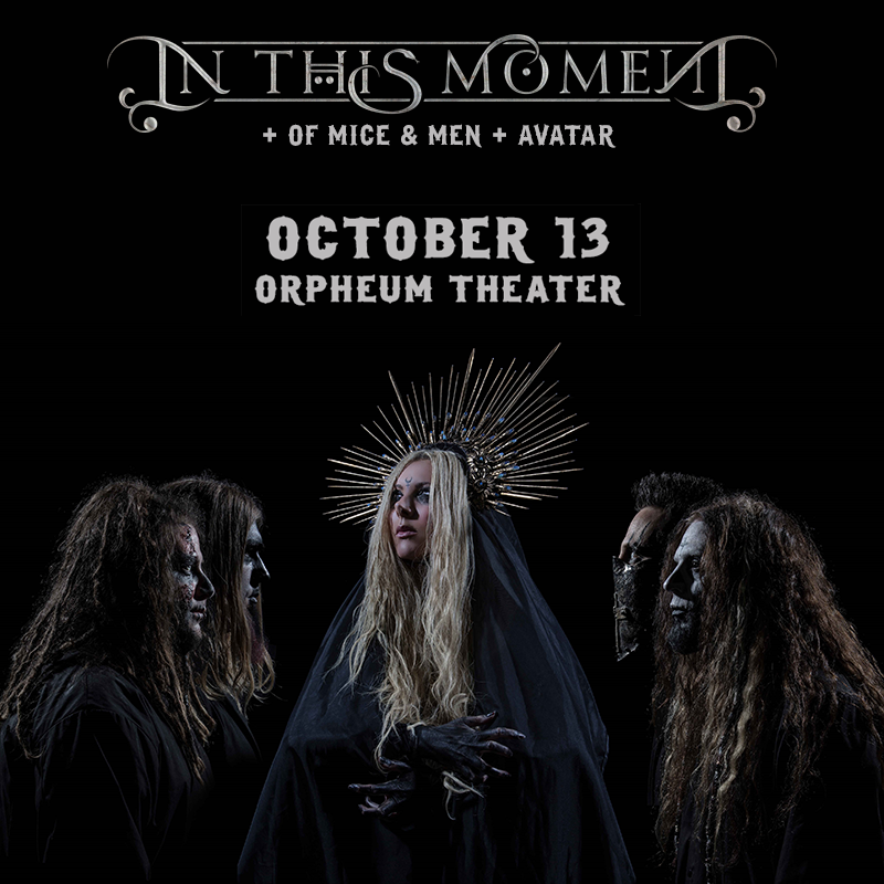 In This Moment - Orpheum Theater New Orleans