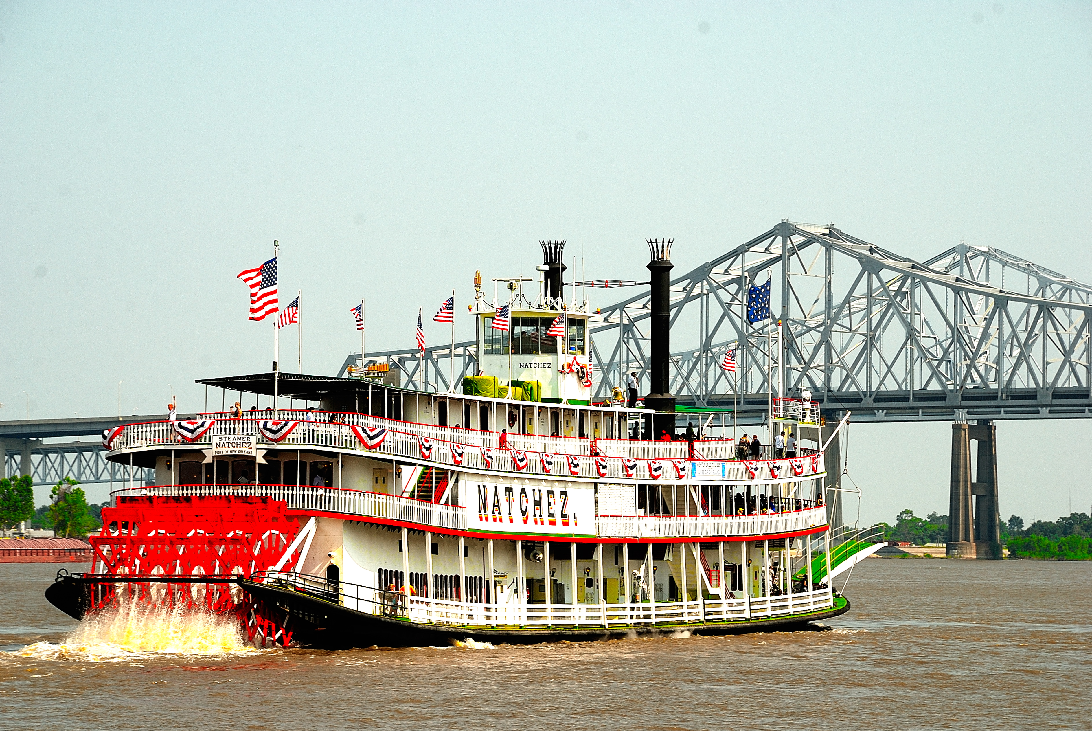 Duke Heitger's Steamboat Stompers (11:30 & 2:30) - Steamboat Natchez