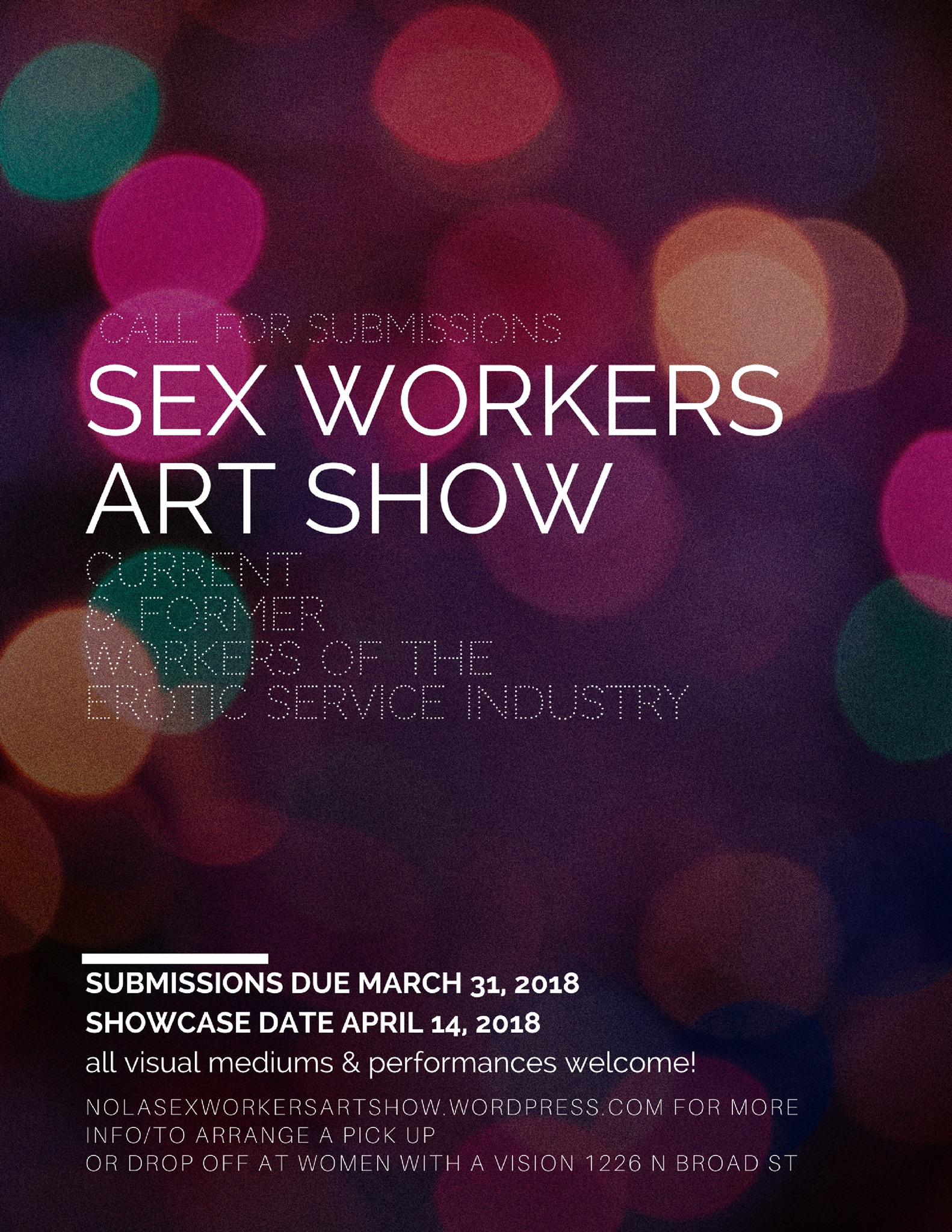 The sex workers art show