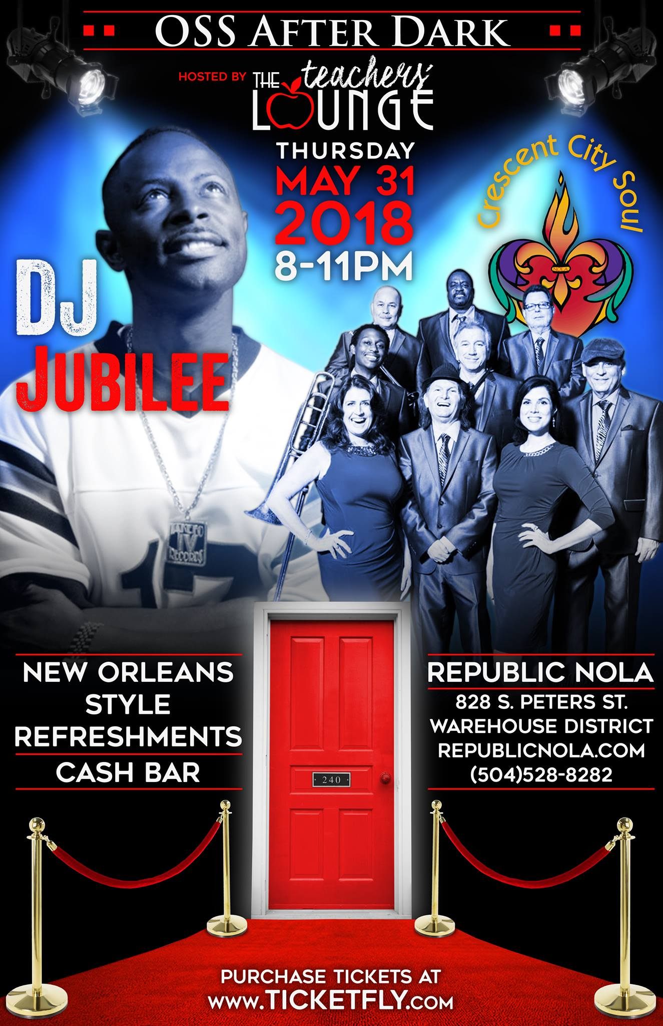 OSS After Dark - Republic New Orleans