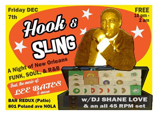 Hook & Sling All NOLA Dance Party - Bar Redux