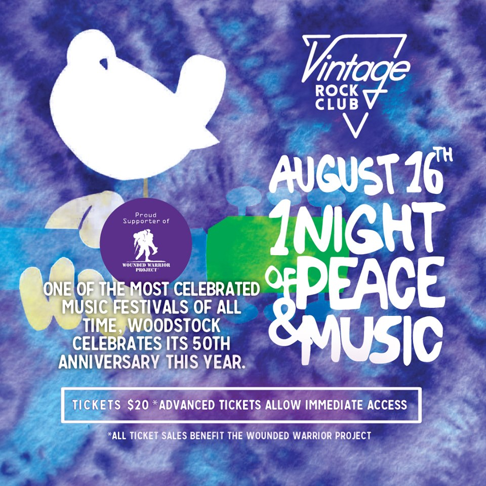 One Night of Peace & Music - Vintage Rock Club