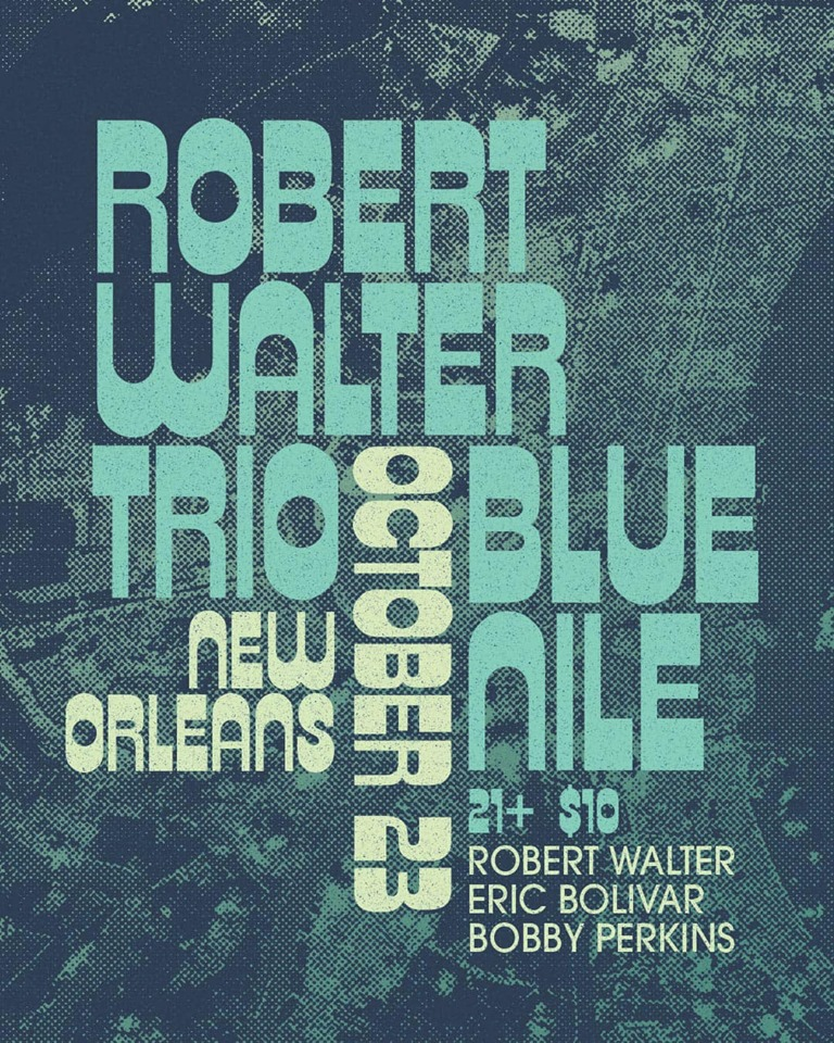Robert Walter Trio - Blue Nile