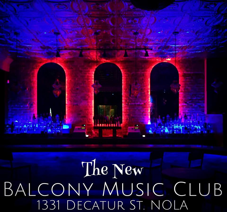 The New Orleans Johnnys - Balcony Music Club